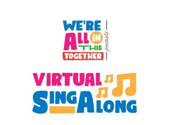 virtual singalong logo