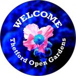 Logo for Thetford Open Gardens