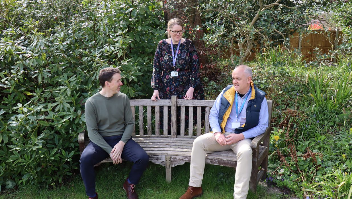 East Anglian hospices unite to mark Dying Matters Awareness Week