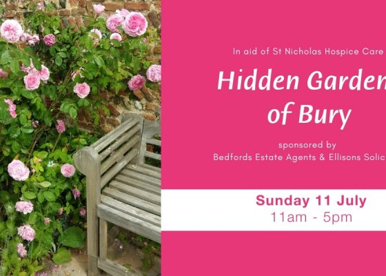 Explore gardens usually hidden from view as part of charity's open gardens event