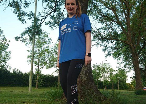 Granddaughter runs marathon distance in Nan's memory