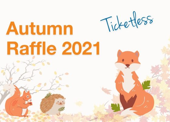 Autumn Raffle: error in posted letter